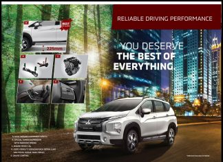 Performa Mitsubishi XPANDER CROSS
