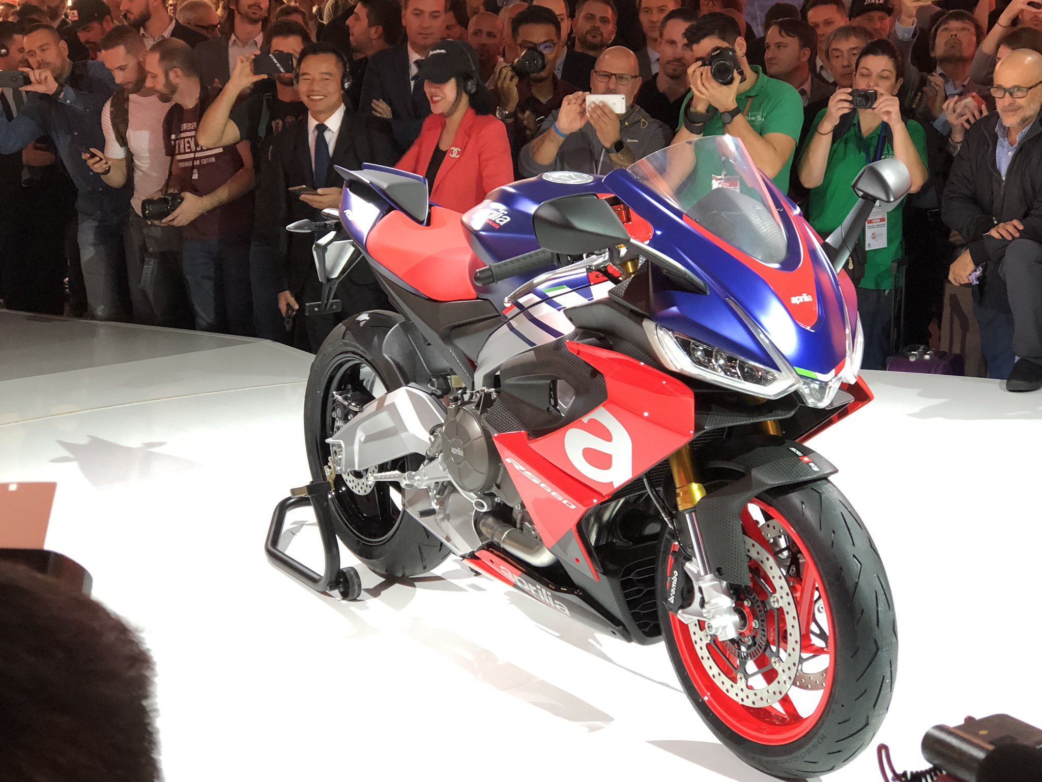 Supersport Aprilia RS660 Parallel Twin