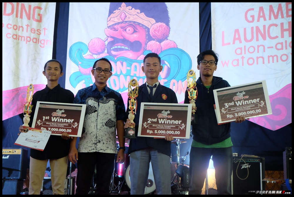 Juara Kompetisi Yayasan AHM Film Pendek Safety Riding