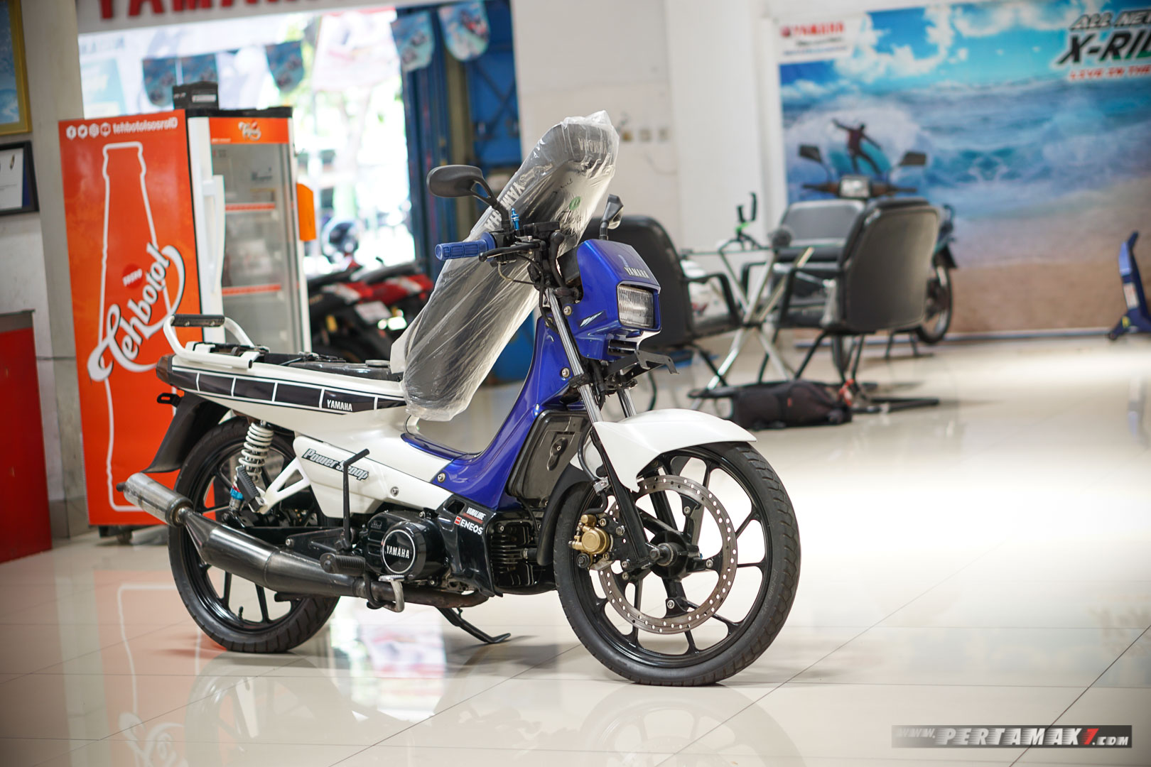 Modifikasi Yamaha Champ 102