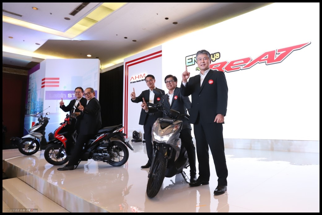 AHM Rilis All New Honda BeAT Series 2020