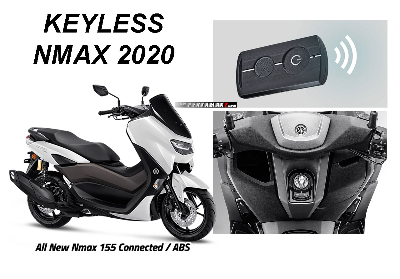 Harga Keyless Yamaha All New NMAX ABS Connected