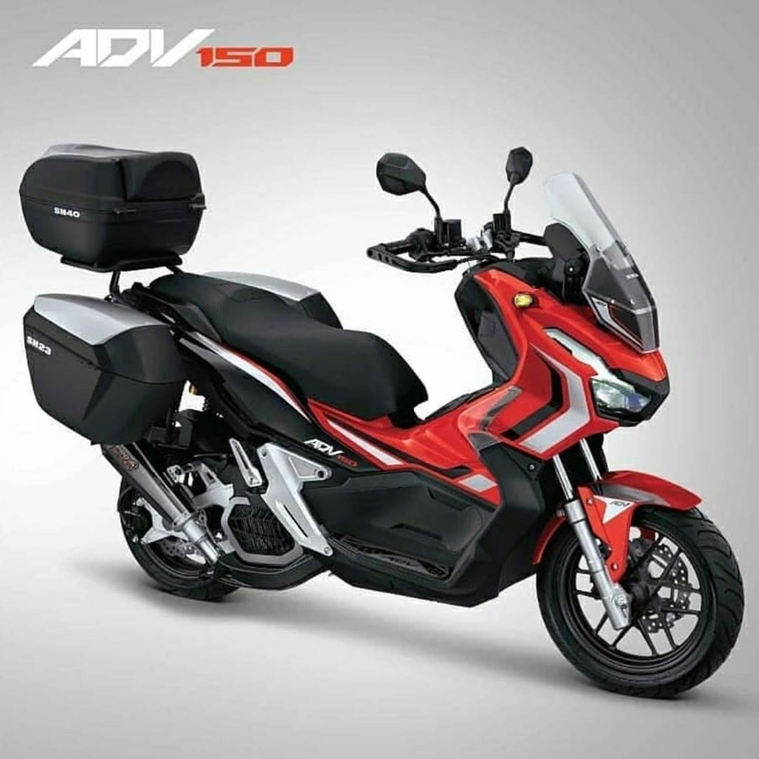 Modifikasi Honda ADV 150 Part Aksesoris
