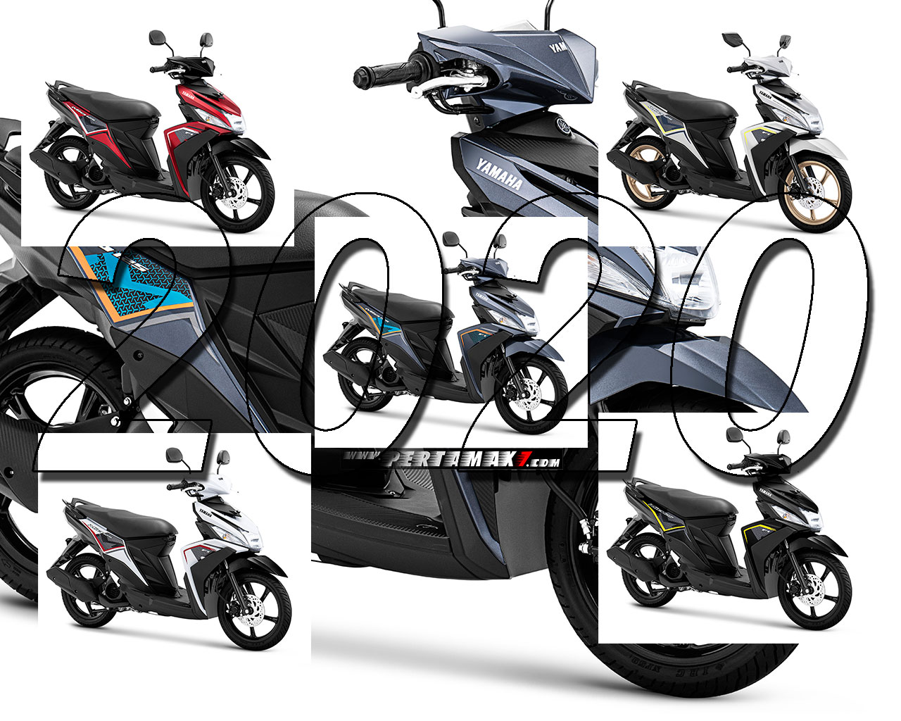Press Release Warna Baru Yamaha MIO M3 Versi 2020
