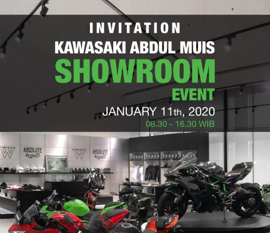 Showroom Event Kawasaki Abdul Muis 11 Januari 2020