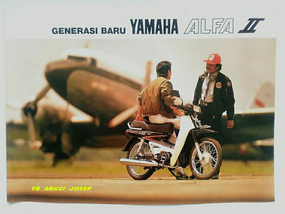 Video Nonton Yamaha Alfa II R Power Scoop Terobosan Zaman
