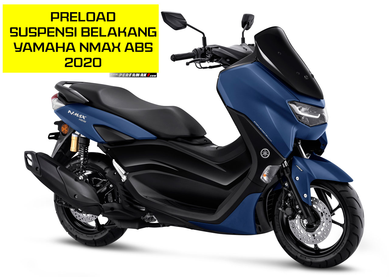 Yamaha All New NMAX ABS Preload Suspension