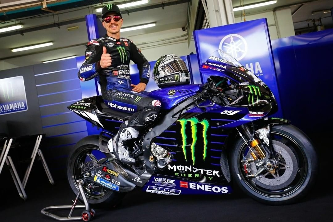 Launching Monster Yamaha MotoGP 2020 Livery