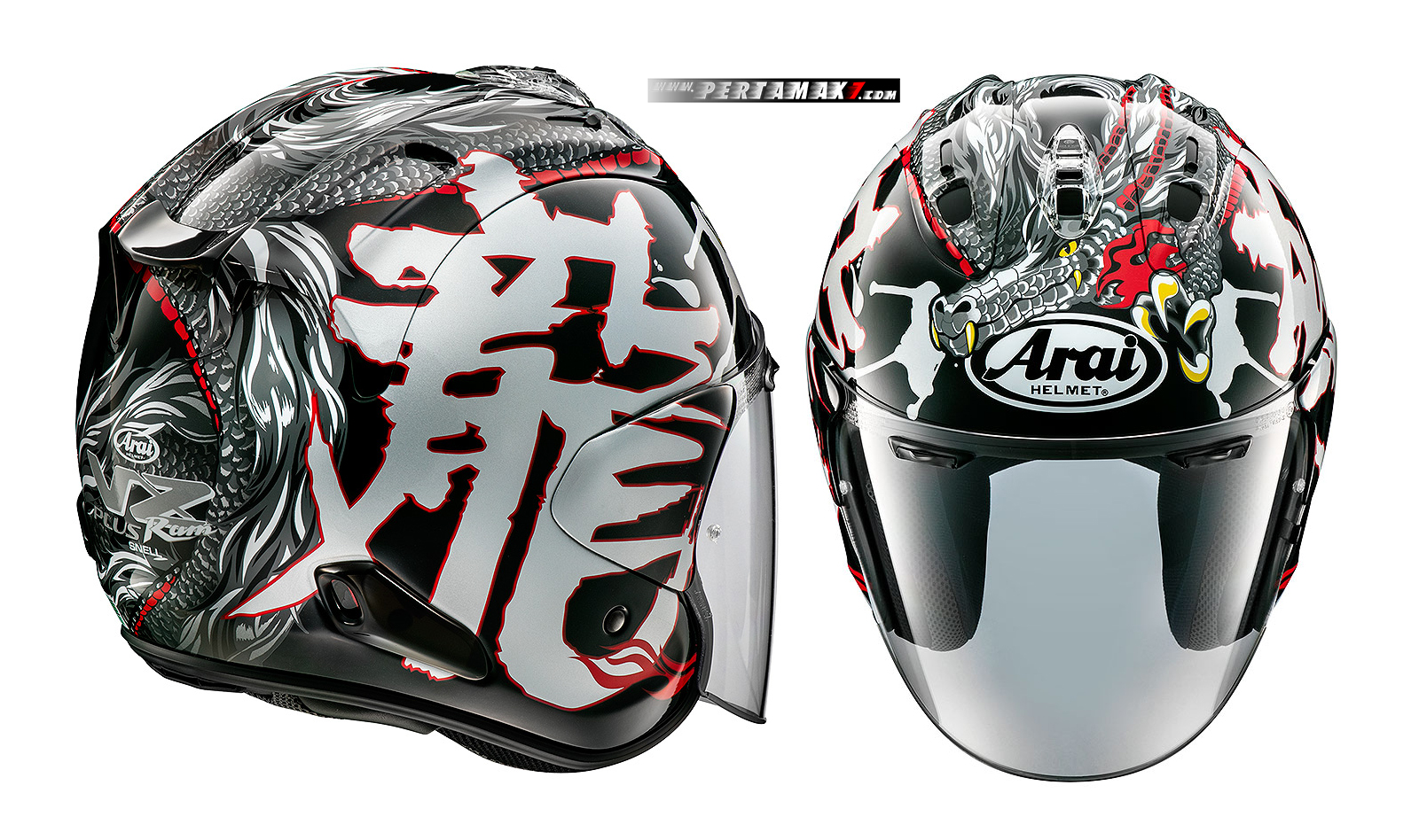 Helm Arai VZ-RAM Dragon Open Face