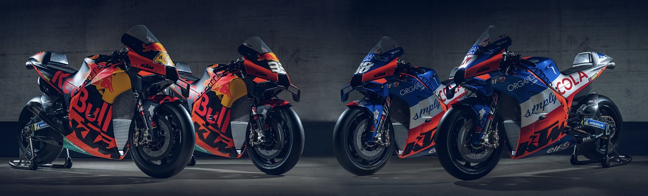 Launching KTM RC16 MotoGP 2020