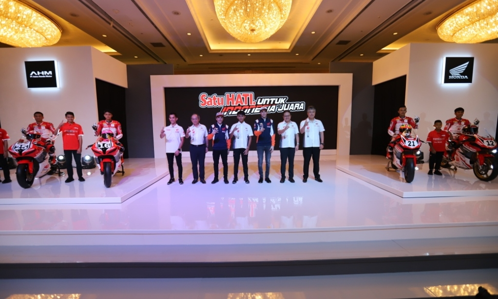 Launching Pebalap Astra Honda 2020 Indonesia