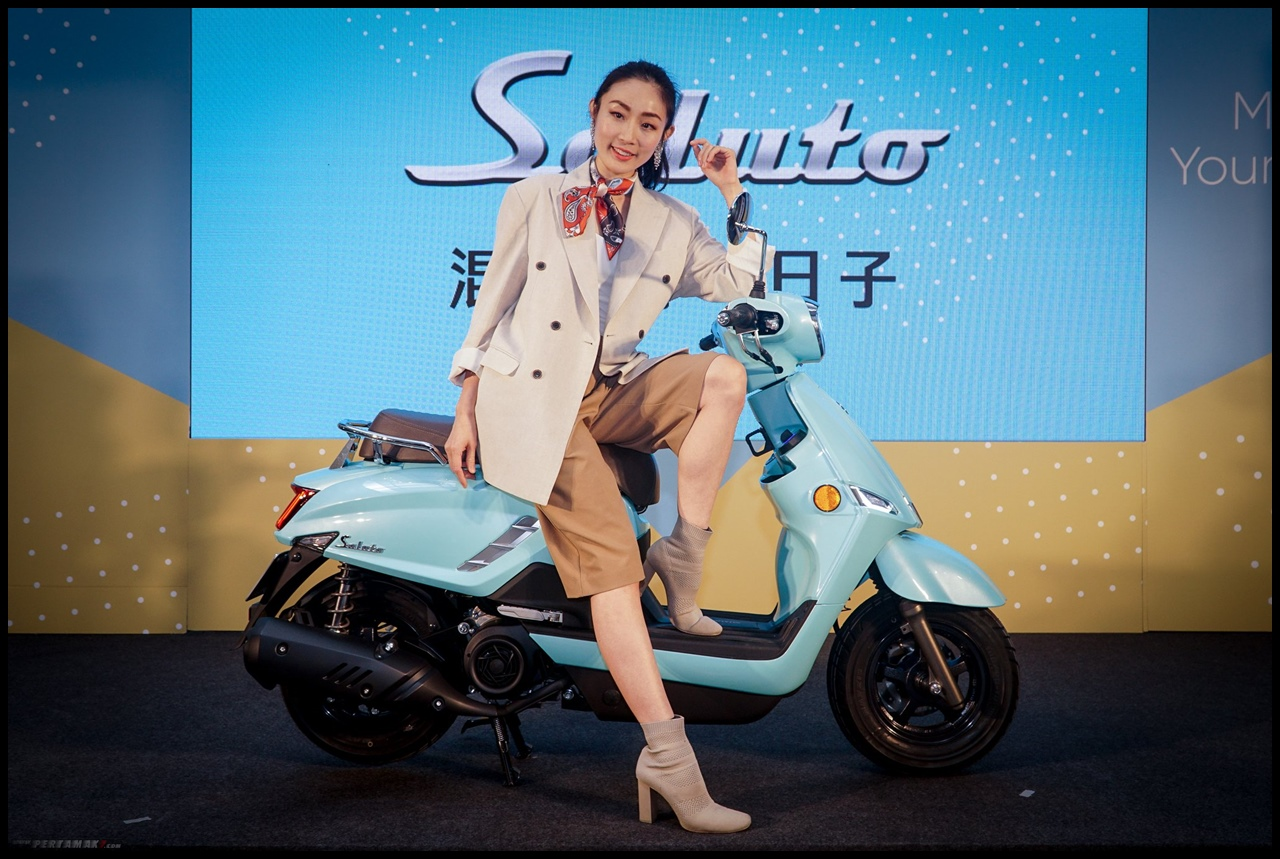 Launching Suzuki Saluto 125
