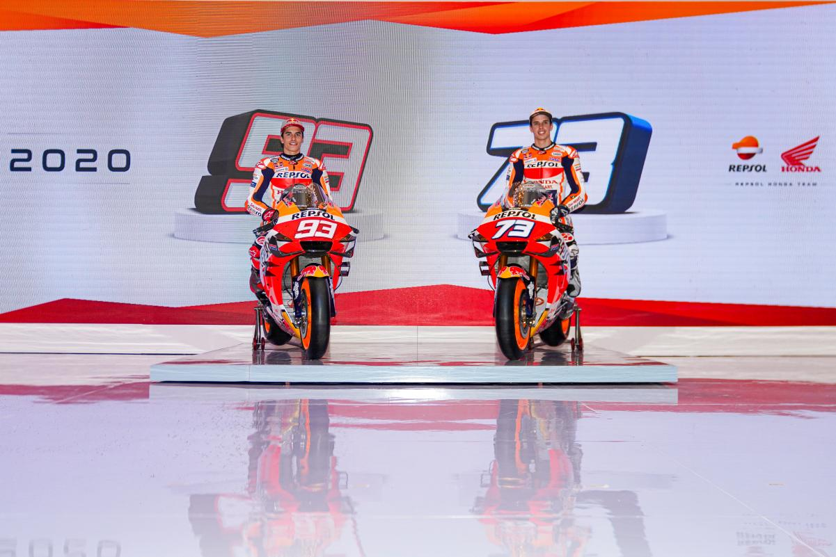 Foto Launching Repsol Honda Team 2020