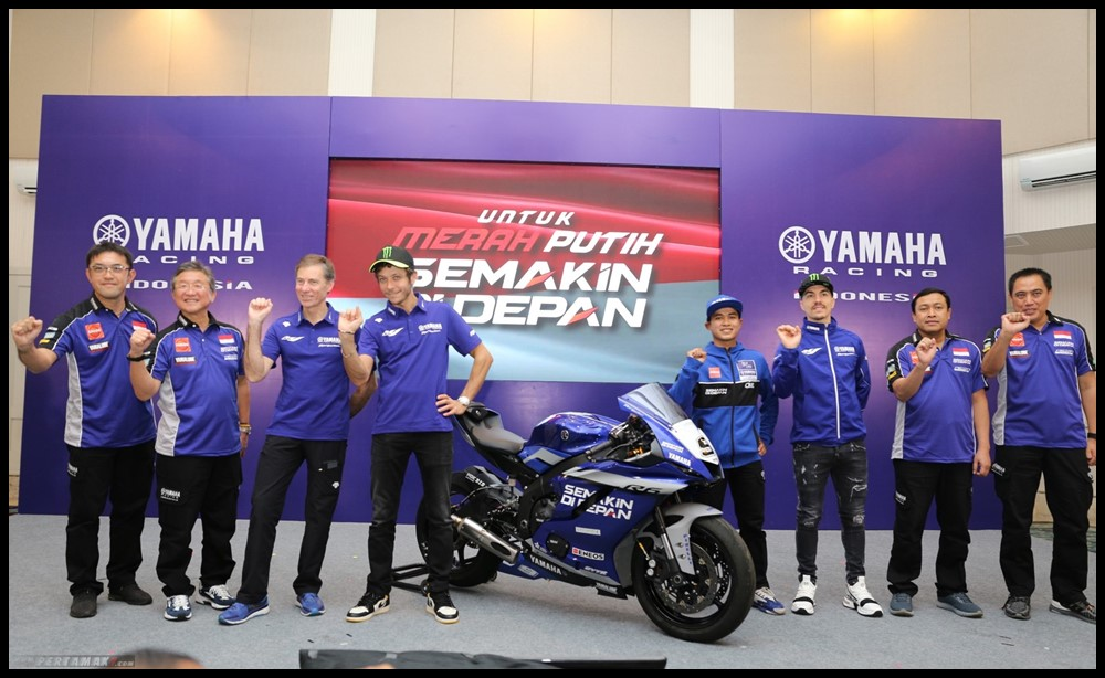Tim Yamaha Racing Indonesia Galang Hendra WSSP600 2020