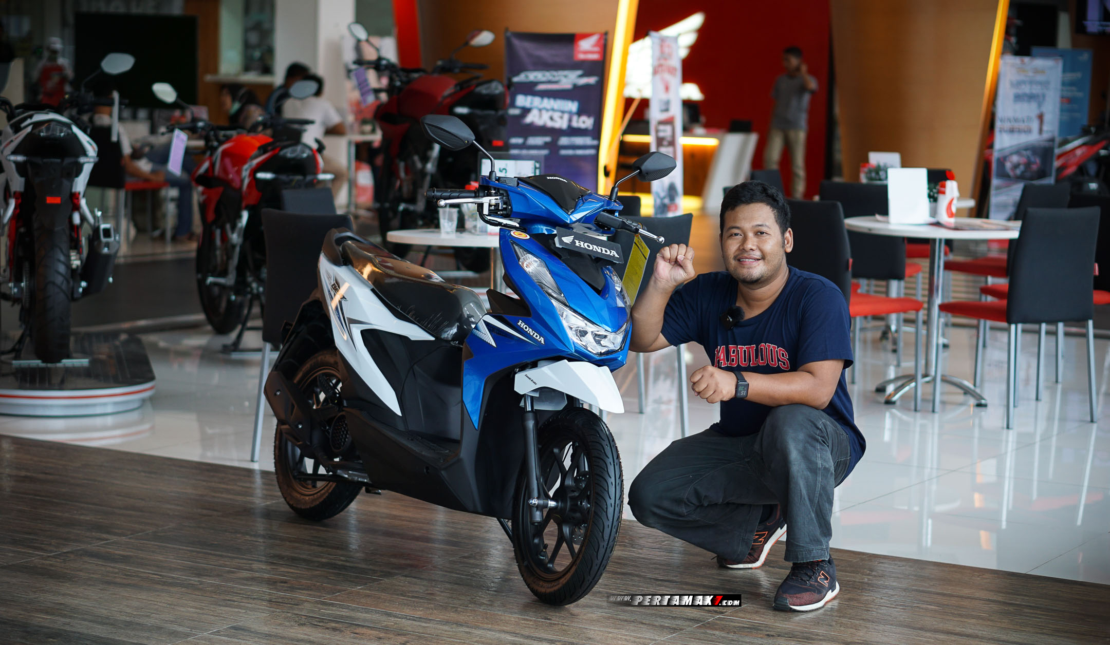 Video Nonton Honda All New BeAT 2020 P7