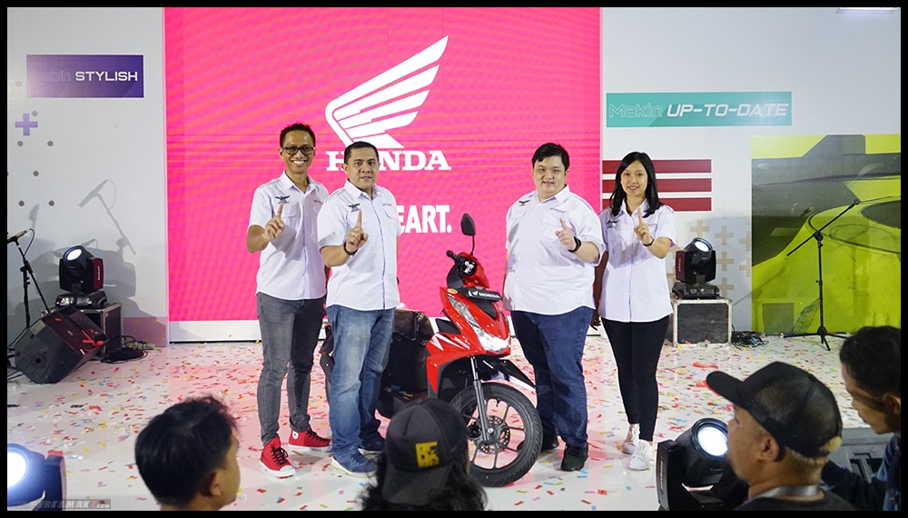 launching All New Honda BeAT eSP Terbaru Jogja