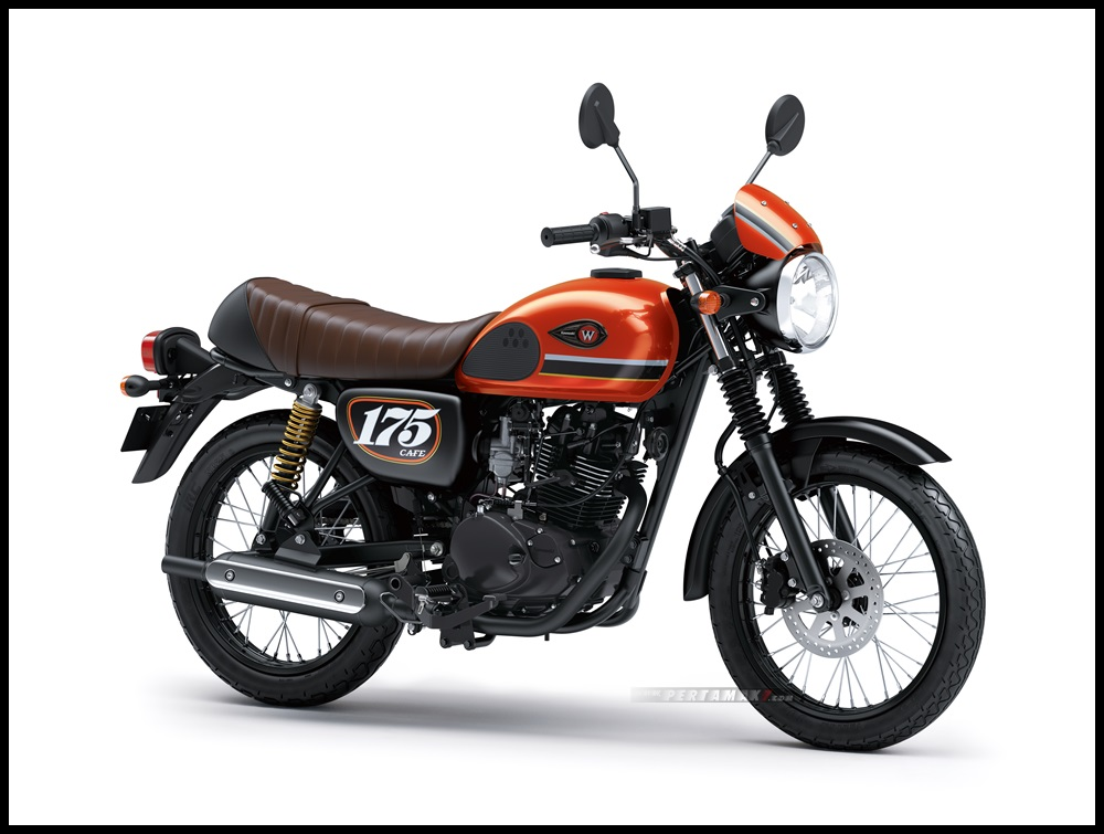2020-Kawasaki-W175-Cafe-Orange-Black