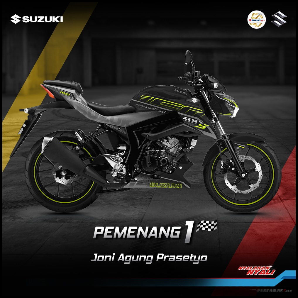Juara Modifikasi Digital Suzuki GSX Series Periode 2