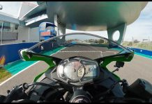 Video Topspeed Kawasaki Ninja ZX25R Gear 5 17000 Rpm