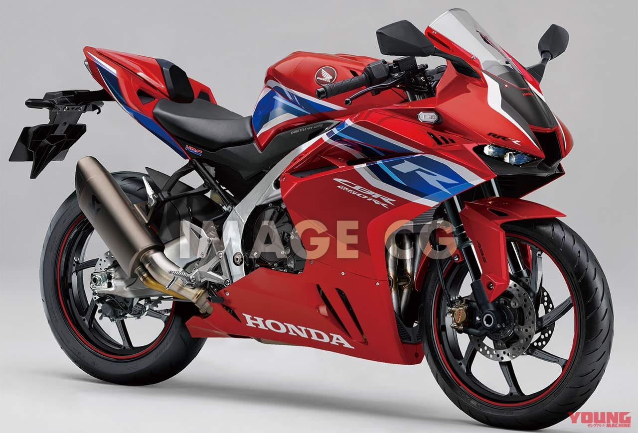 Gambaran Honda CBR250RRR 4 Silinder Ala Young Machine Japan 2020