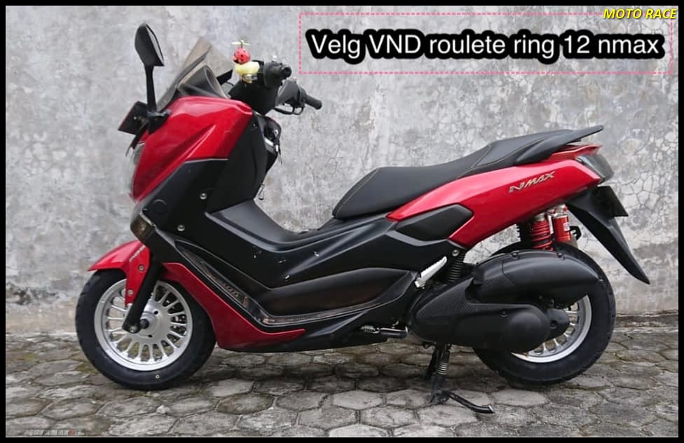 Modifikasi Yamaha NMAX Velg 12 Inchi