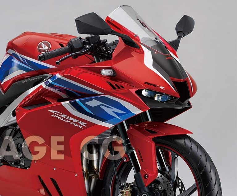 Photoshop Honda CBR250RRR 4-inline Young Machine