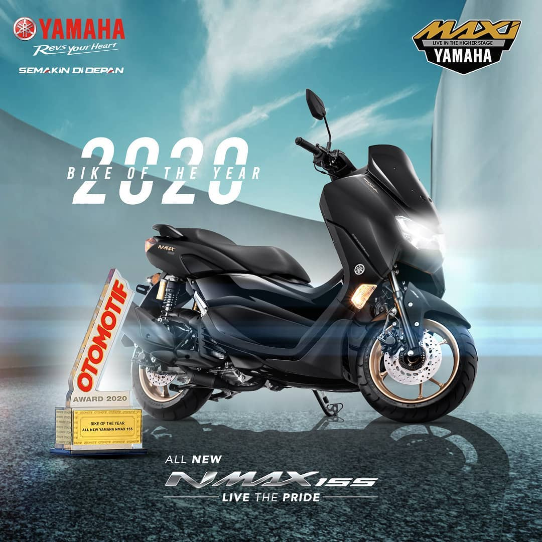 Yamaha All New NMAX Raih Bike Of The Year 2020 Otomotif Award