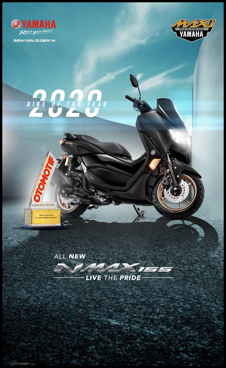 Yamaha NMAX Terbaru Bike Of The Year Otomotif Award 2020