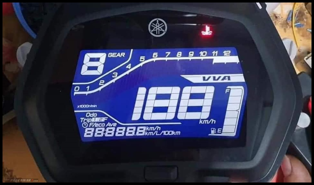 Bedah Fitur Speedometer Yamaha MX KING 155 VVA Exciter RC Vietnam