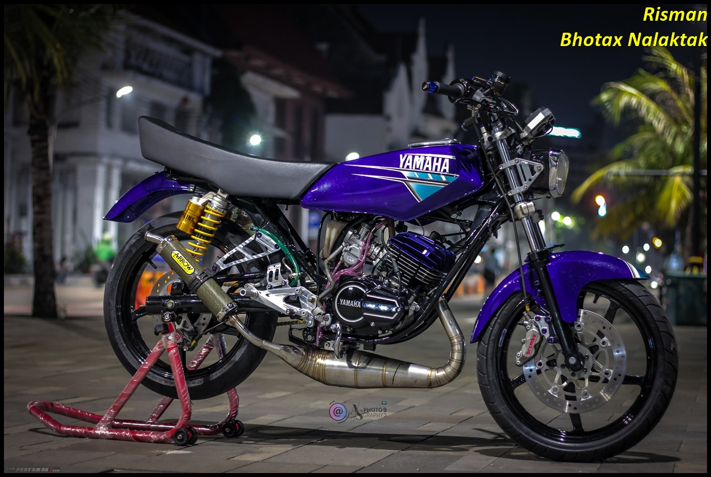 Modifikasi Yamaha RX KING Hedon