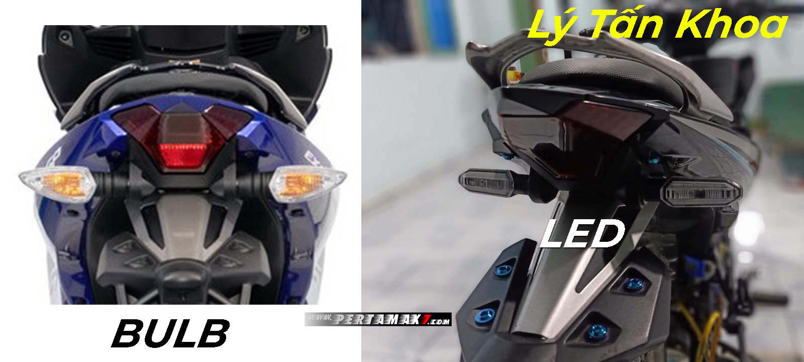 Sein LED Honda CB150R di Yamaha MX KING 150