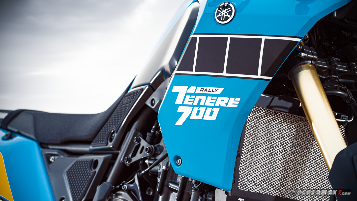 Wallpaper Yamaha Tenere 700 Rally Edition