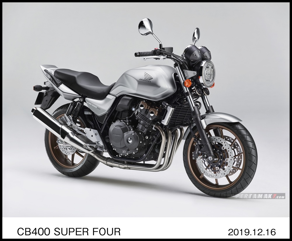 HONDA CB400 Super Four Silver Limited Edition MY2020