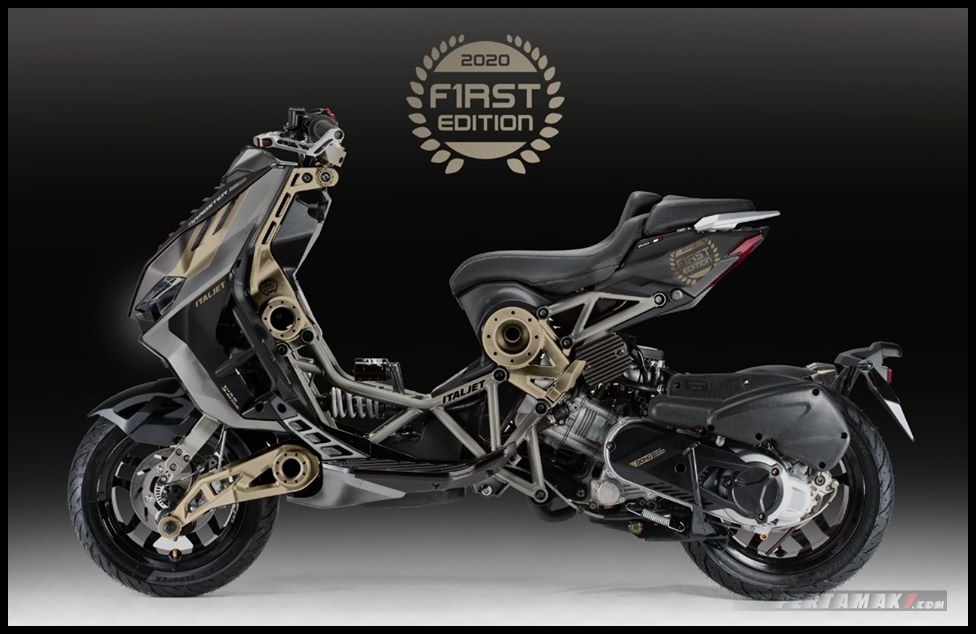 Italjet Dragster First Edition Ludes Terjual Black Gold