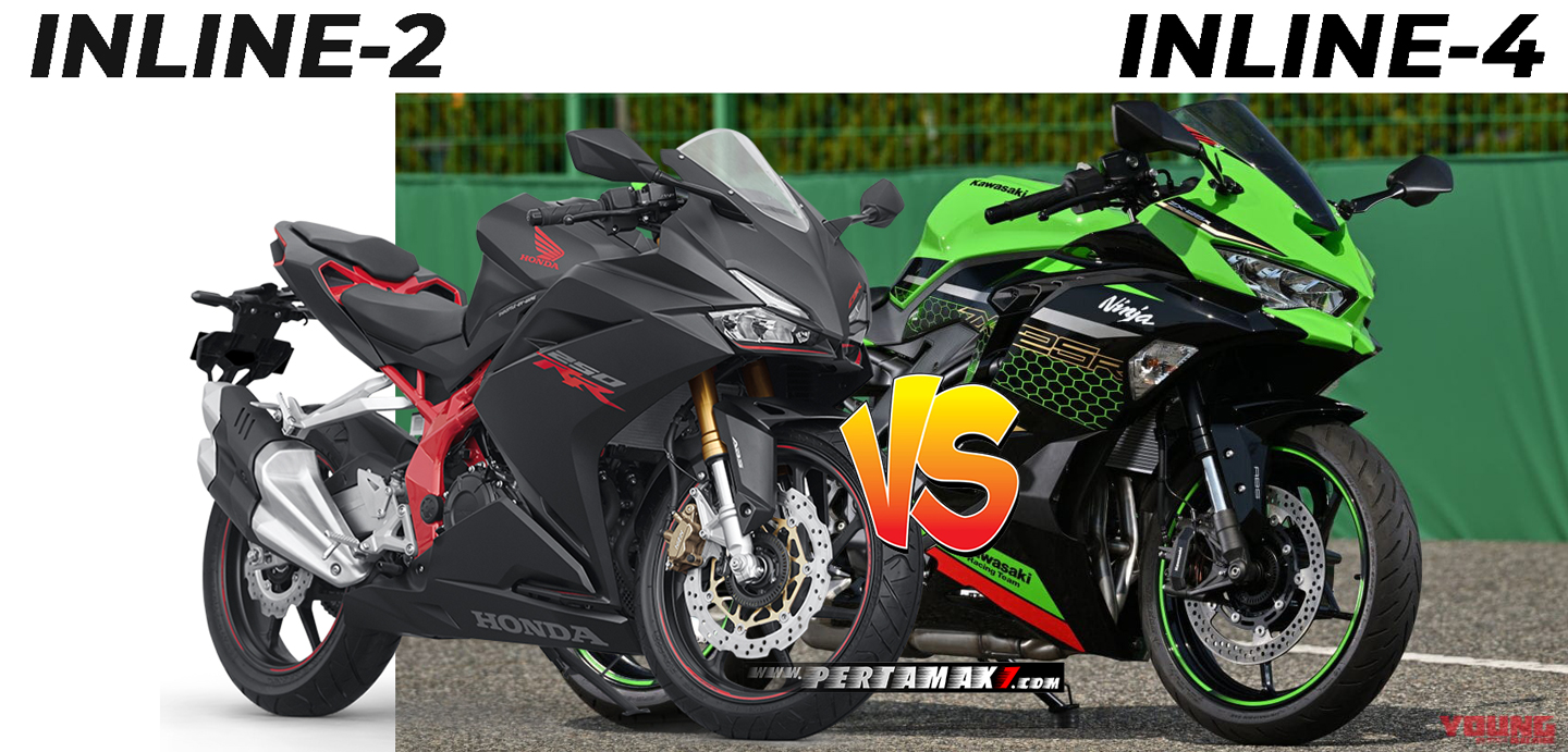 Komparasi Power Honda CBR250RR VS Kawasaki Ninja ZX25R