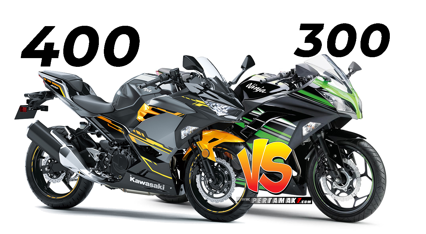 Adu Power Kawasaki Ninja 400 VS Ninja 300