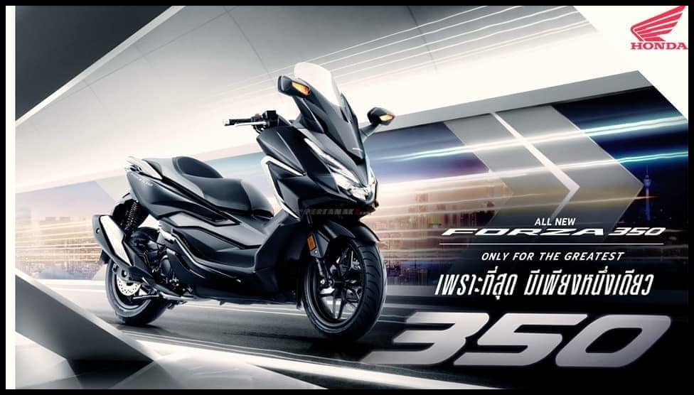 Honda Forza 350 MY2021 Only For The Greatest