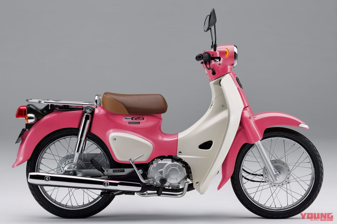 Imutnya Honda Super Cub Pink Weather Child Limited Edition