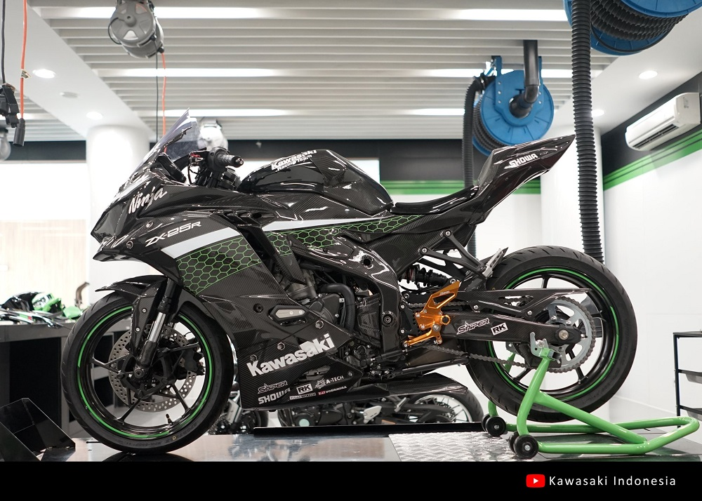 Media Launching Kawasaki Ninja ZX25R