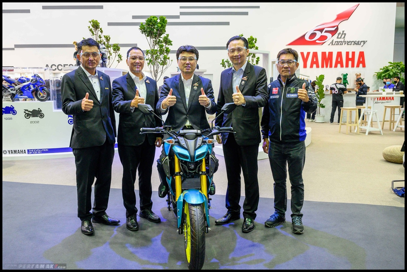launching foto Yamaha MT15 Limited Edition Tosca Thailand