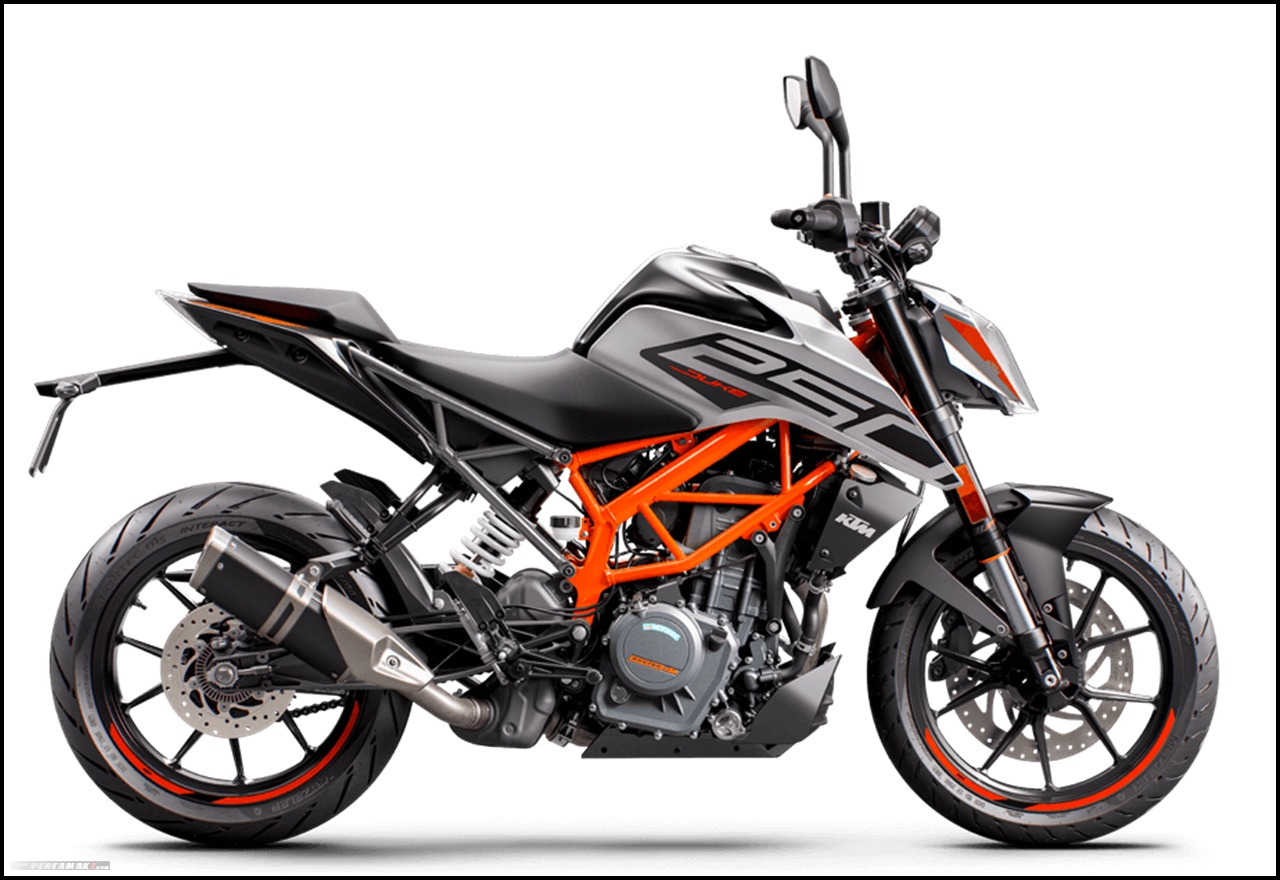 KTM 250 DUKE Versi 2020 Pakai LED Headlamp BS6