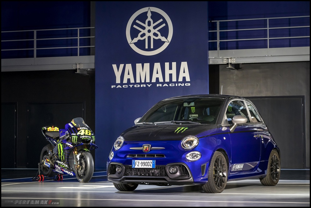 Abarth 595 Monster Energy Yamaha Valentino Rossi