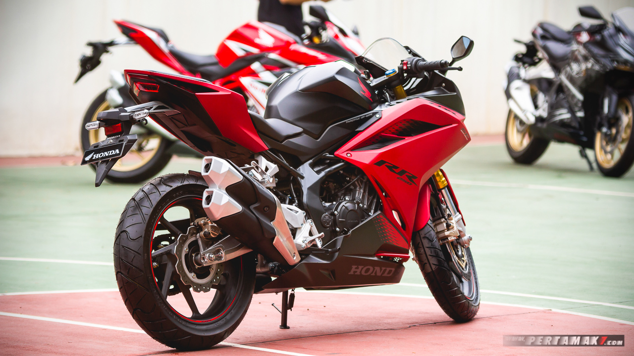Detail Honda CBR250RR SP Bravery Red Black