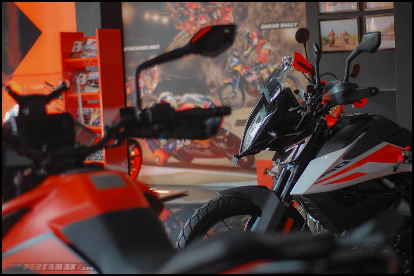 Galeri Foto KTM 390 Adventure Indonesia
