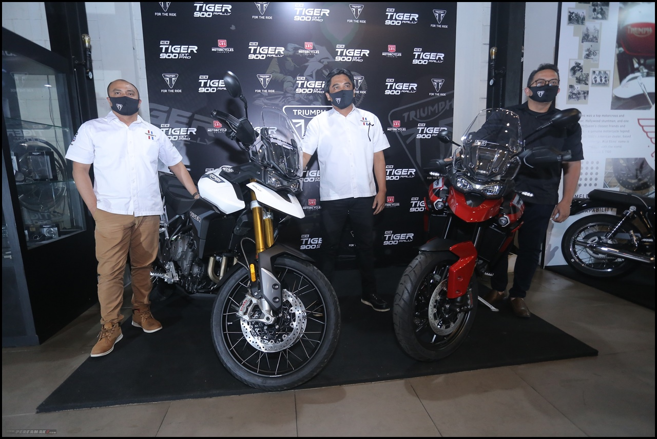Launching 5 Motor Baru Triumph di Indonesia By GAS Motorcycle