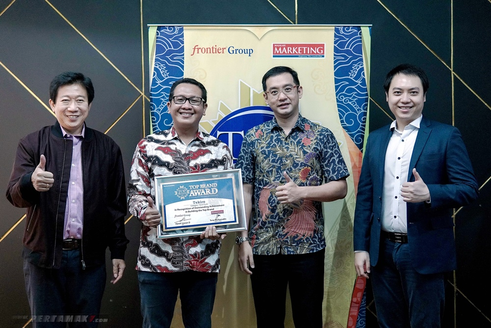 Tekiro Tools Raih Top Brand Award 2020