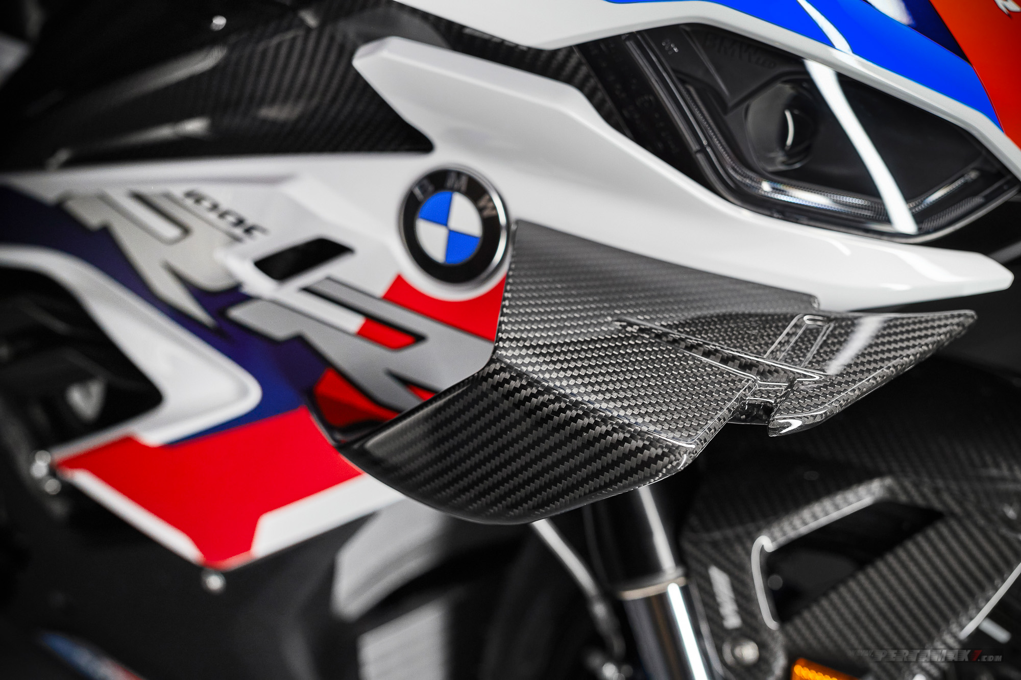 Detail Winglets BMW M1000RR