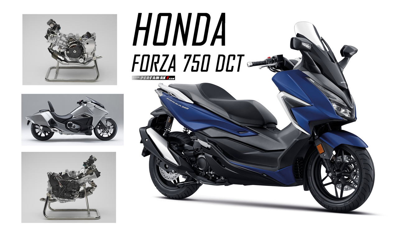 Launching Honda Forza 750 DCT
