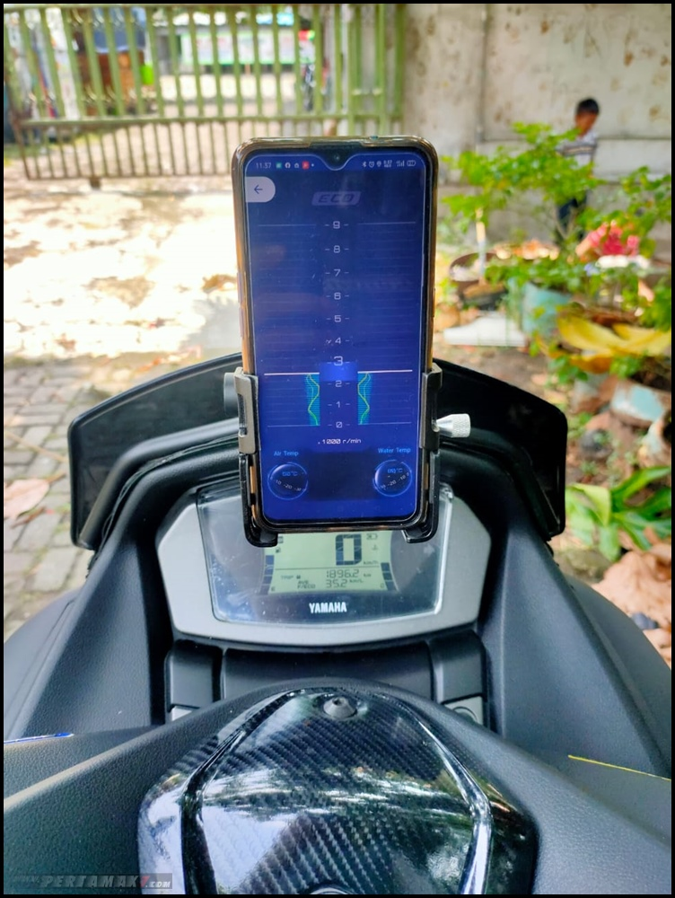 Otak Yamaha All New NMAX 155 Connected ABS