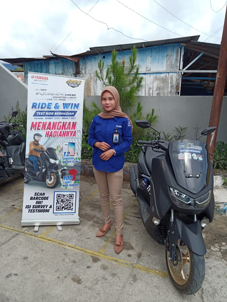 Program Testride Yamaha NMax 155 Connected ABS